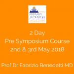 Prof Dr F Benedetti Course